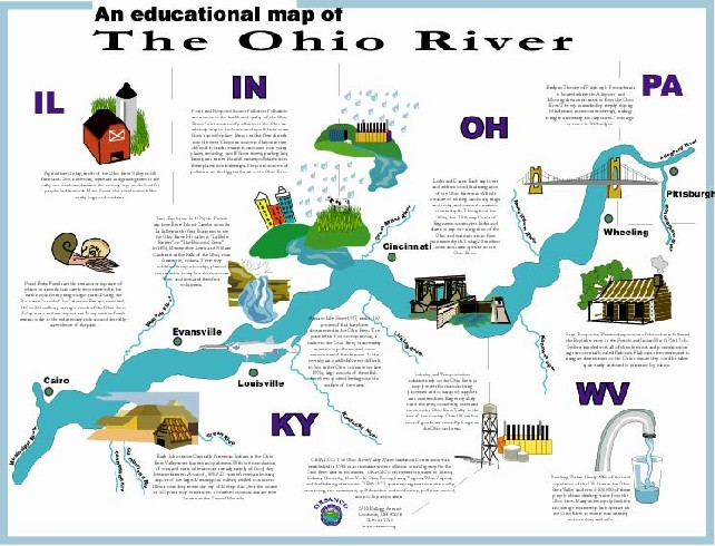 Ohio - Ohio rivers map